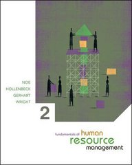 Fundamentals of Human Resource Management 2nd edition 9780073257945 007325794X