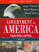 Government in America 12th edition 9780321292544 0321292545