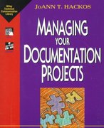 Managing Your Documentation Projects 1st edition 9780471590996 0471590991