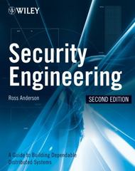 Security Engineering 2nd edition 9780470068526 0470068523