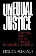 Unequal Justice 1st Edition 9780195021707 0195021703
