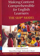 Making Content Comprehensible for English Learners 3rd edition 9780205518869 0205518869