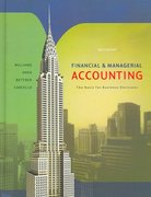 Financial And Managerial Accounting 14th edition 9780072996500 0072996501