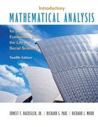Introductory Mathematical Analysis for Business, Economics and the Life and Social Sciences 12th edition 9780132404228 0132404222