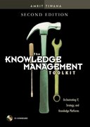 The Knowledge Management Toolkit 2nd Edition 9780130092243 013009224X