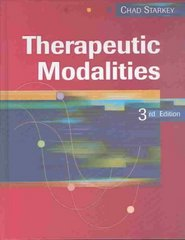 Therapeutic Modalities 3rd edition 9780803611399 0803611390