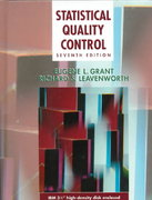 Statistical Quality Control 7th edition 9780078443541 0078443547