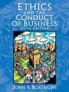 Ethics and the Conduct of Business 5th edition 9780131947214 0131947214
