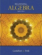 Beginning Algebra (with CengageNOW, Personal Tutor Printed Access Card) 8th edition 9780495118077 0495118079