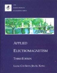 Applied Electromagnetism 3rd edition 9780534947224 0534947220