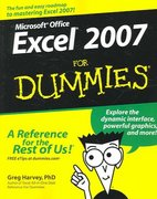 Excel 2007 For Dummies 1st edition 9780470037379 0470037377