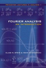 Fourier Analysis 0 9780691113845 069111384X
