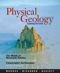 Physical Geology 6th edition 9780495011484 0495011487