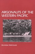 Argonauts of the Western Pacific 1st Edition 9780881330847 0881330841