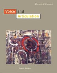 Voice and Articulation 4th edition 9780534523541 0534523544