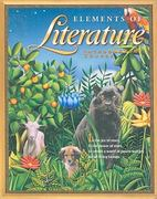 Elements of Literature 3rd edition 9780030672774 0030672775