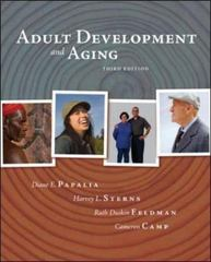 Adult Development and Aging 3rd edition 9780072937886 0072937882
