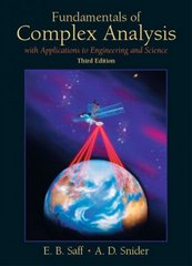 Fundamentals of Complex Analysis with Applications to Engineering, Science, and Mathematics 3rd edition 9780139078743 0139078746