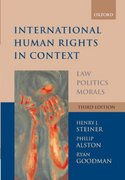 International Human Rights in Context 3rd edition 9780199279425 019927942X