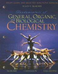 Fundamentals of General, Organic, and Biological Chemistry 5th edition 9780131877498 0131877496