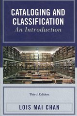 Cataloging and Classification 3rd Edition 9780810860001 0810860007