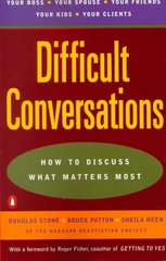 Difficult Conversations 1st Edition 9780140288520 014028852X