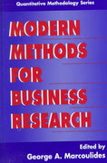 Modern Methods for Business Research 0 9781135684112 1135684111