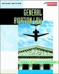 General Aviation Law 2nd edition 9780070151048 0070151040