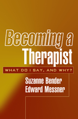 Becoming a Therapist 1st Edition 9781572309432 1572309431
