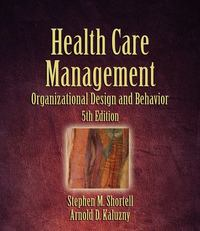 Health Care Management 5th edition 9781418001896 1418001899