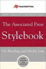 The Associated Press Stylebook 42nd edition 9780465004898 046500489X