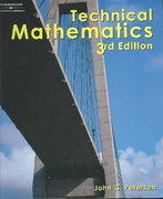 Technical Mathematics 3rd edition 9780766861886 0766861880