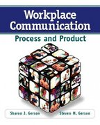 Workplace Communication 1st Edition 9780132288088 0132288087