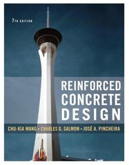 Reinforced Concrete Design 7th edition 9780471262862 0471262862