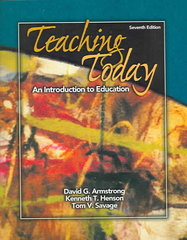 Teaching Today 7th edition 9780131837829 0131837826