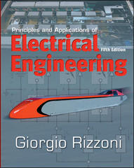 Principles and Applications of Electrical Engineering 5th Edition 9780073220338 0073220337
