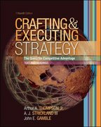 Crafting and Executing Strategy 15th edition 9780073269801 0073269808