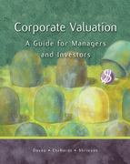 Corporate Valuation 1st edition 9780324274288 0324274289