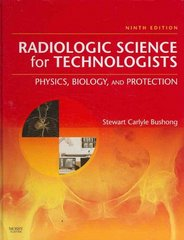 Radiologic Science for Technologists 9th edition 9780323048378 0323048374