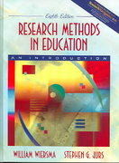 Research Methods in Education 8th edition 9780205406098 0205406092