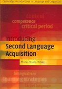 Introducing Second Language Acquisition 0 9780521794077 0521794072
