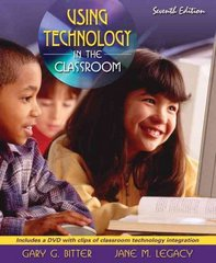 Using Technology in the Classroom 7th edition 9780205508945 0205508944