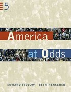America at Odds 5th edition 9780534647599 0534647596