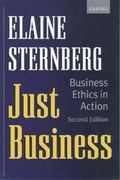 Just Business 2nd edition 9780198296638 0198296630