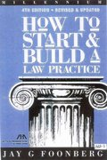 How to Start and Build a Law Practice 5th Edition 9781590312476 1590312473