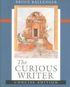The Curious Writer 0 9780321437815 0321437810