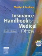 Insurance Handbook for the Medical Office 9th edition 9781416001003 141600100X