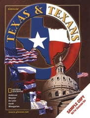 Texas and Texans, Student Edition 1st Edition 9780078239670 0078239672