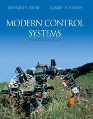 Modern Control Systems 11th edition 9780132270281 0132270285