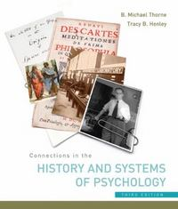 Connections in the History and Systems of Psychology 3rd edition 9780618415120 0618415122